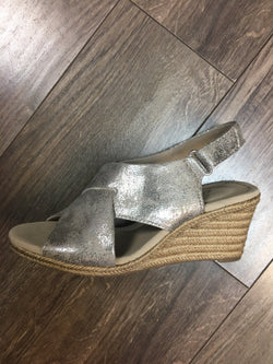 Lafley Alaine Pewter Wedge by Clarks