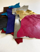 Lightweight leather scraps