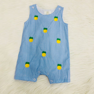 8768 Pineapply Boy Romper