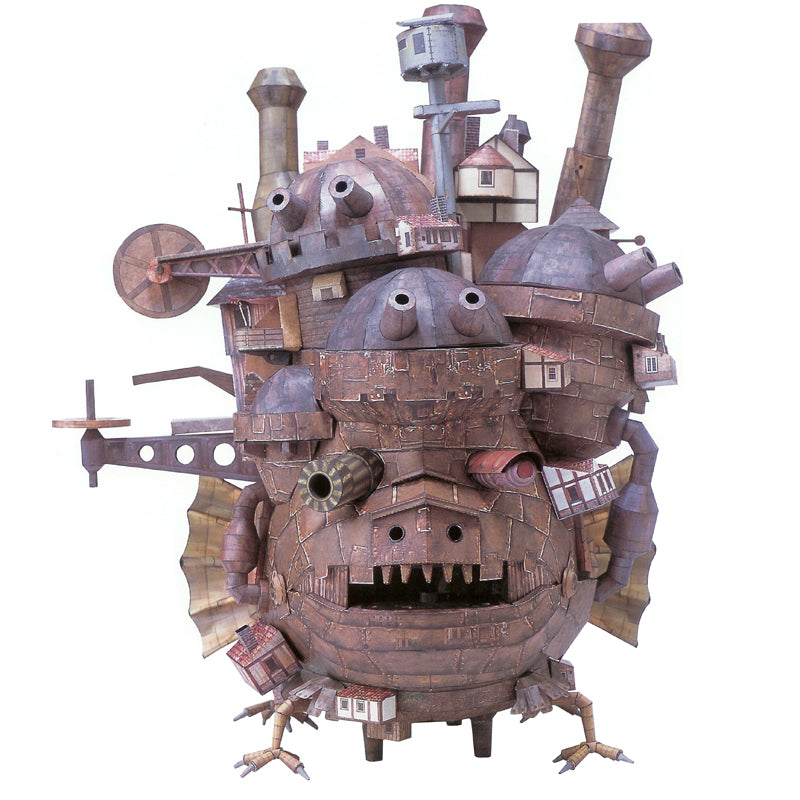 Howl's Moving Castle Paper Craft Model