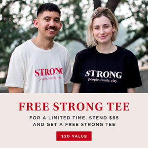 Strong City Tee
