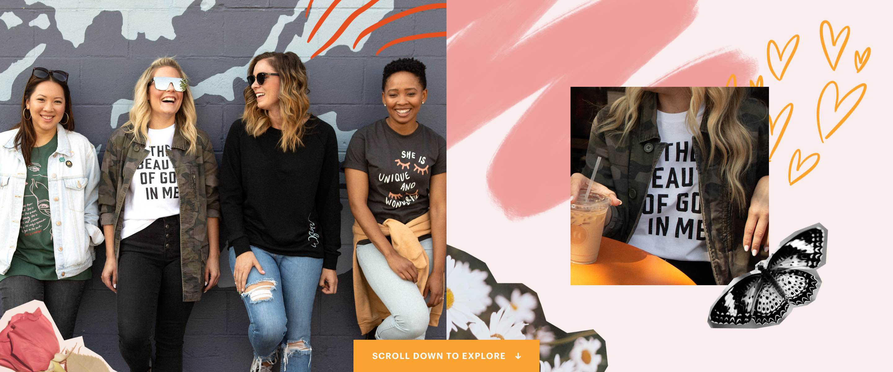 Introducing the new - Bethel Women's Line - Celebrate the wonder of who God made you to be.
