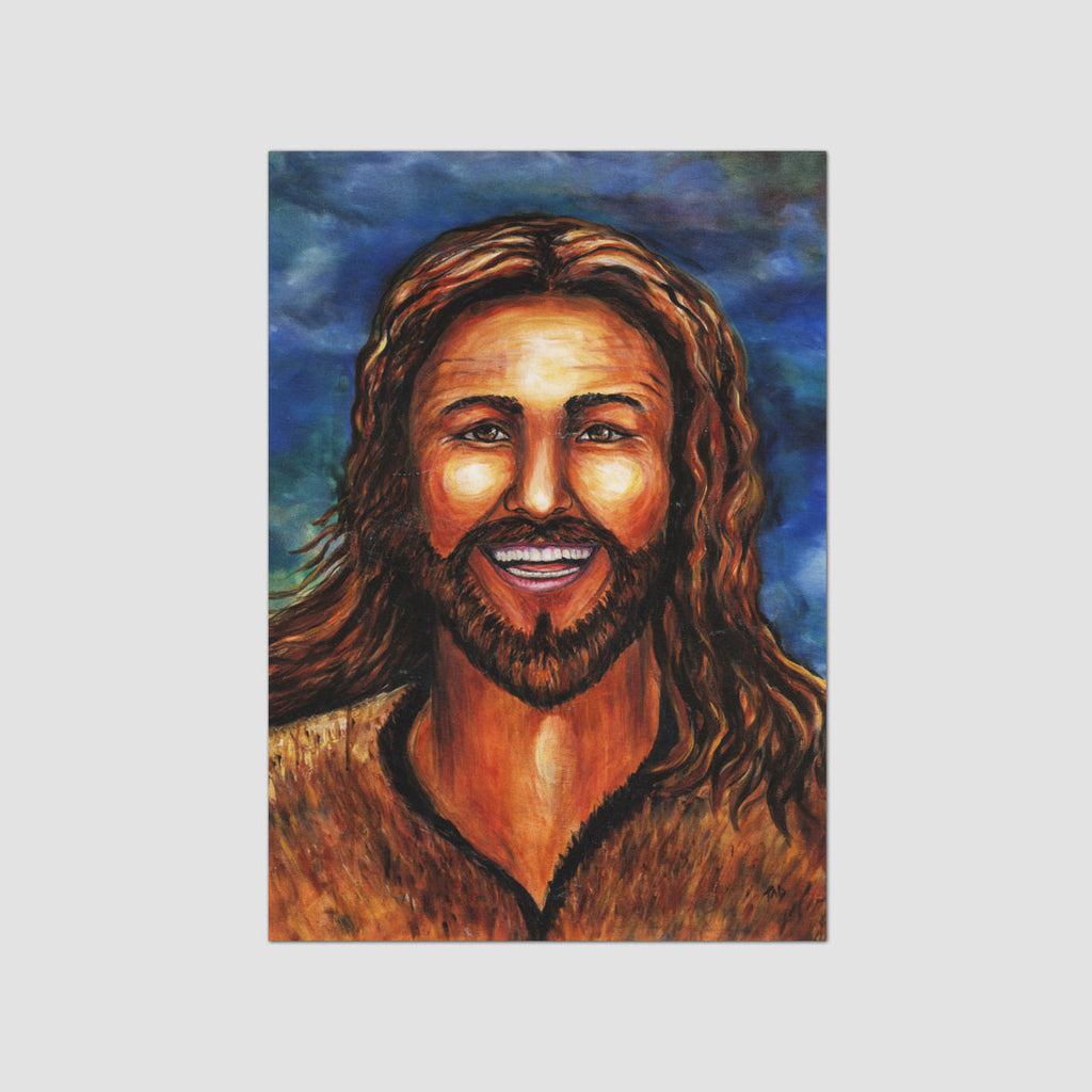Happy Jesus Card