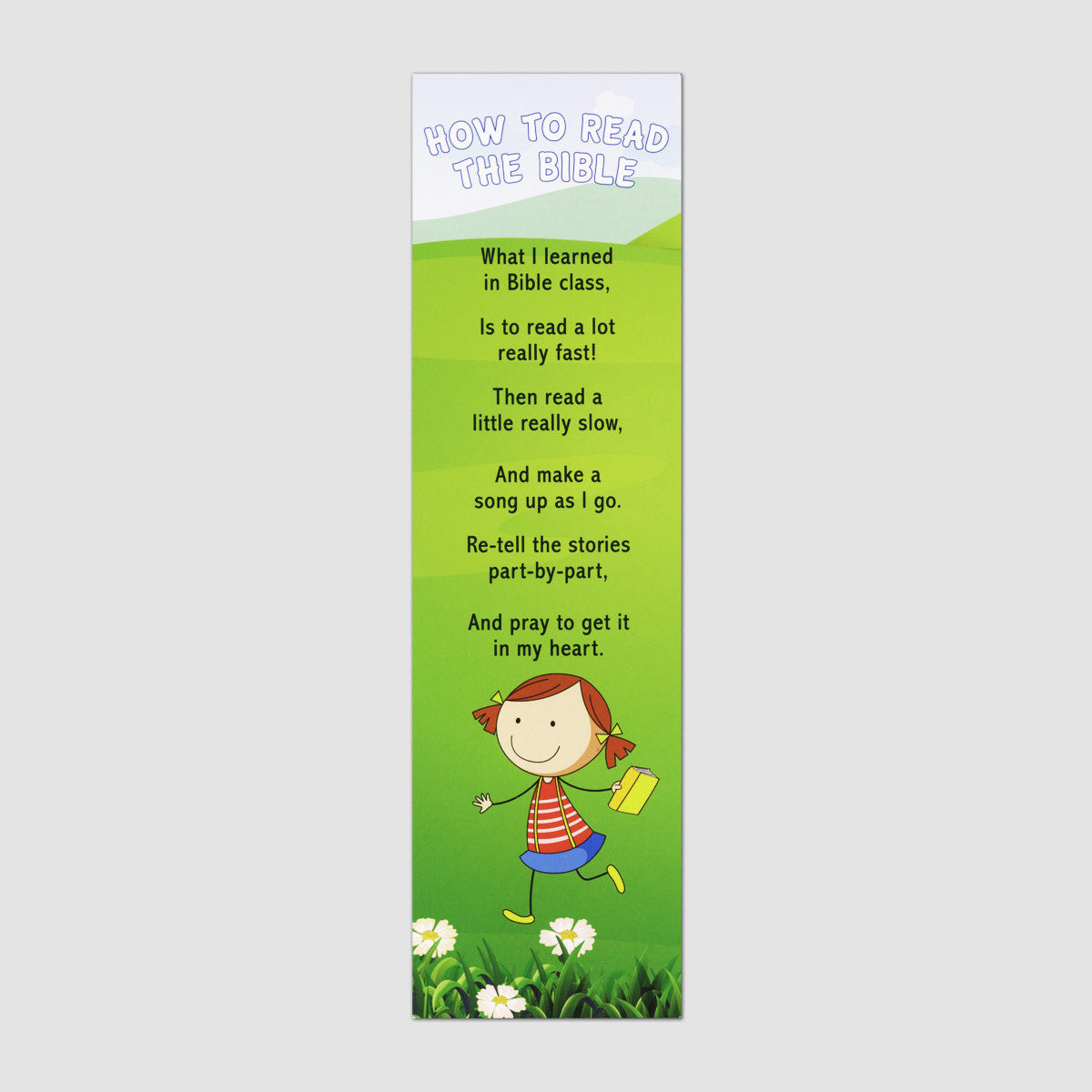How to Read the Bible Poster & Bookmark