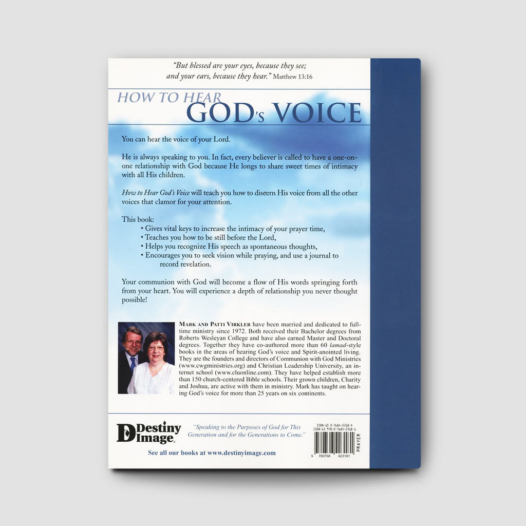 Workbooks prayer workbook : How To Hear God's Voice – Bethel Store
