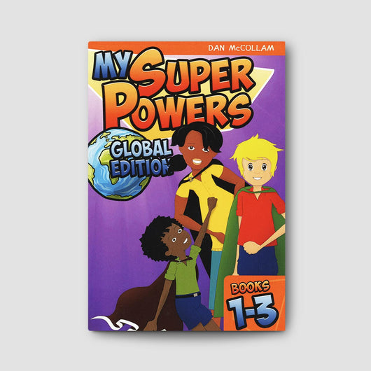 My Super Powers: Global Edition Book 1-3