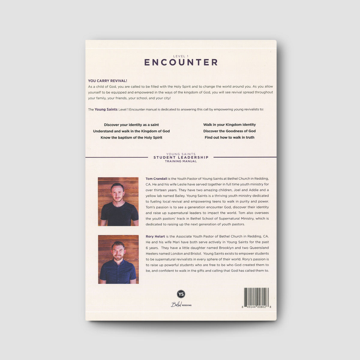 Student Leadership Team (SLT) Manual Level 1: Encounter