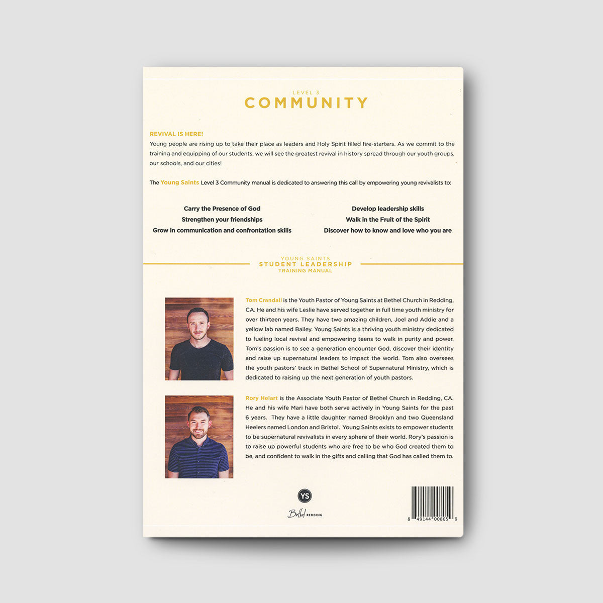 Student Leadership Team (SLT) Manual Level 3: Community