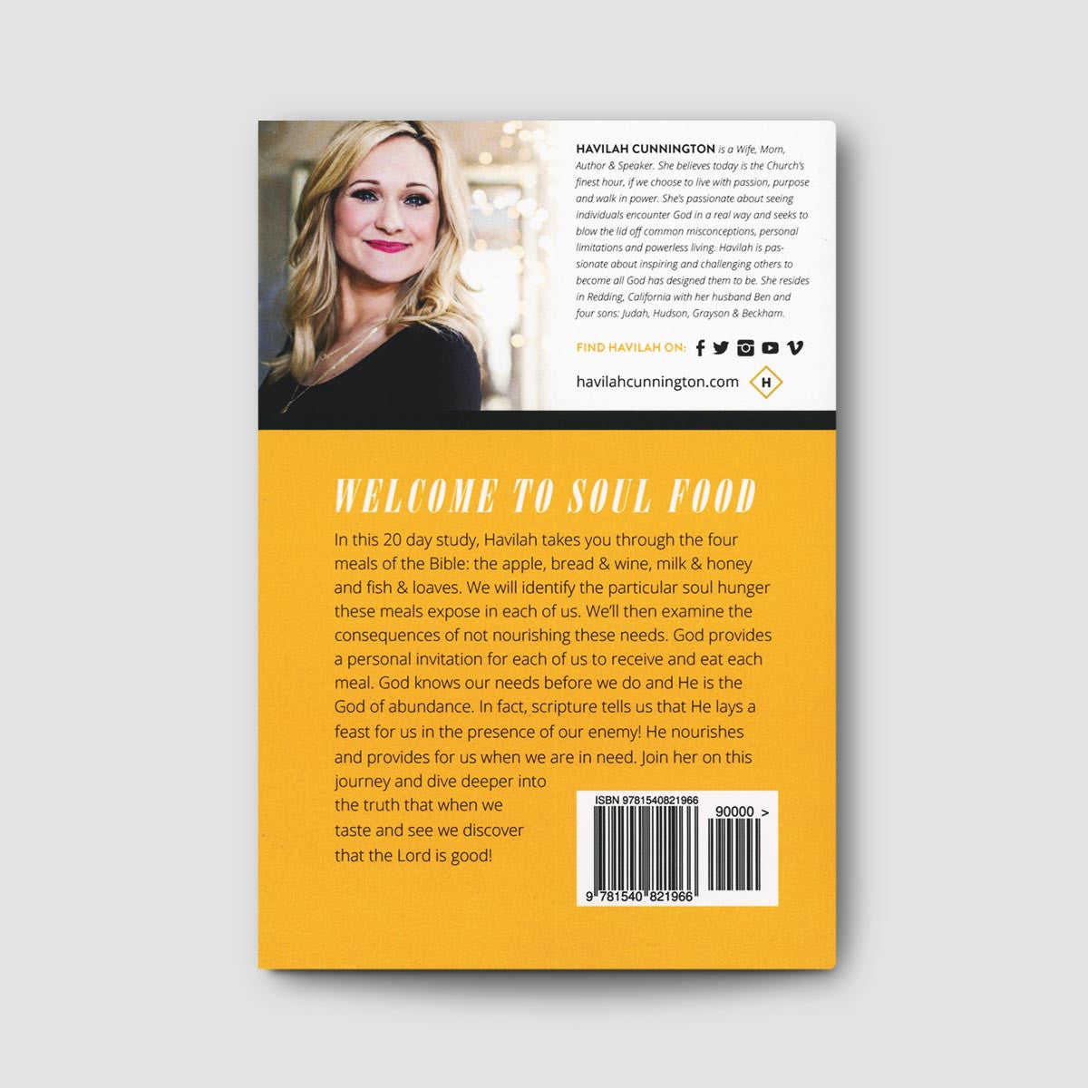 Soul Food: A Spiritual Guidebook to a Satisfied Soul