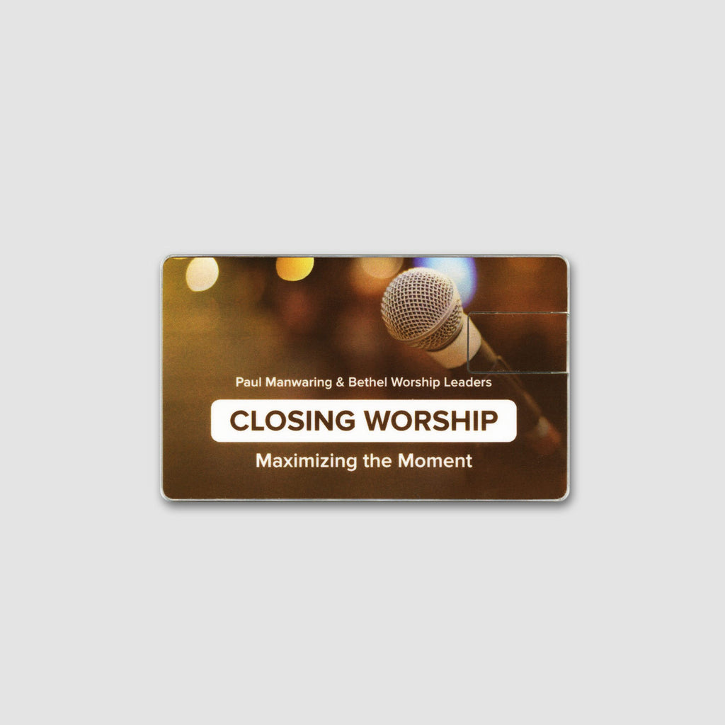 Closing Worship: Maximizing the Moment