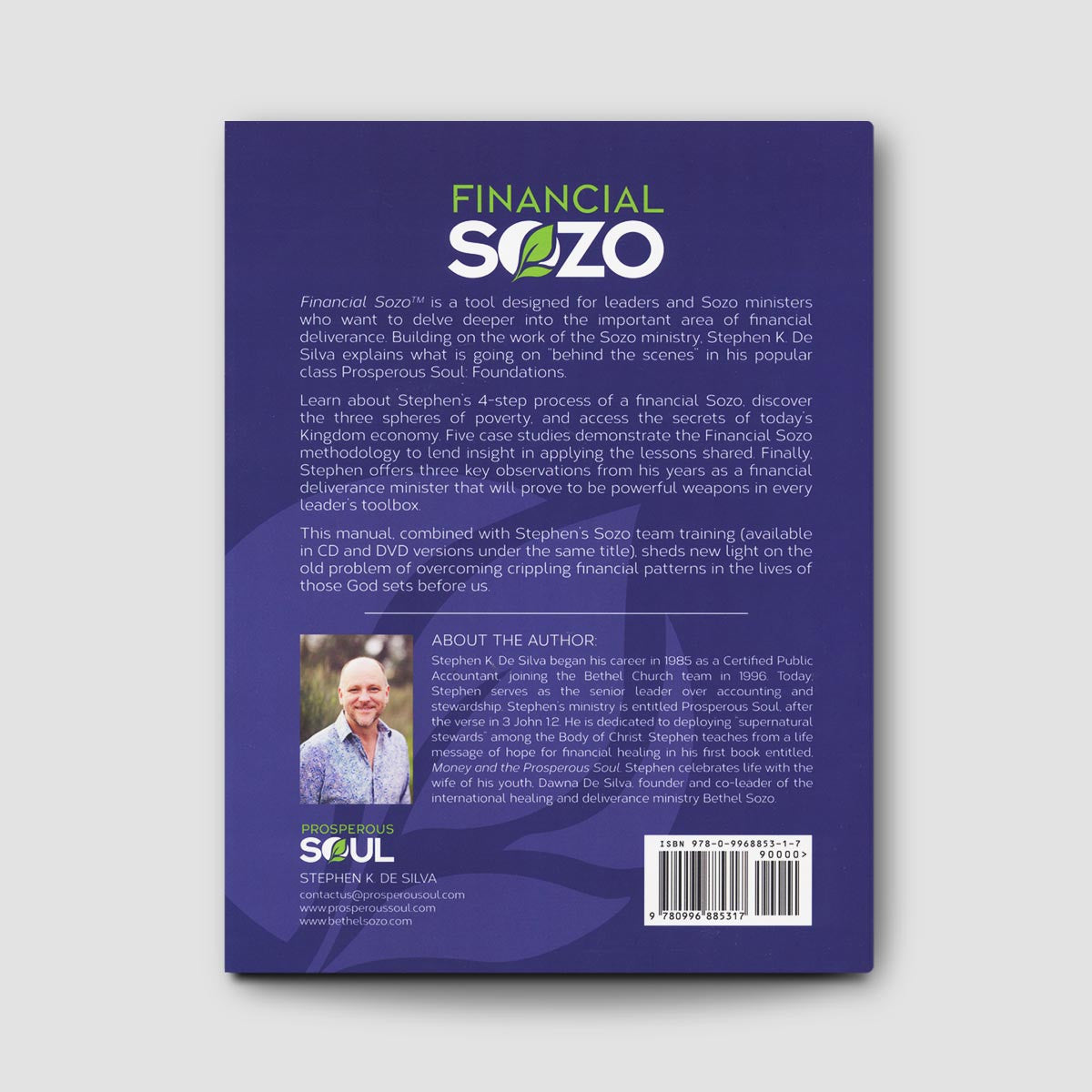 Financial Sozo Manual