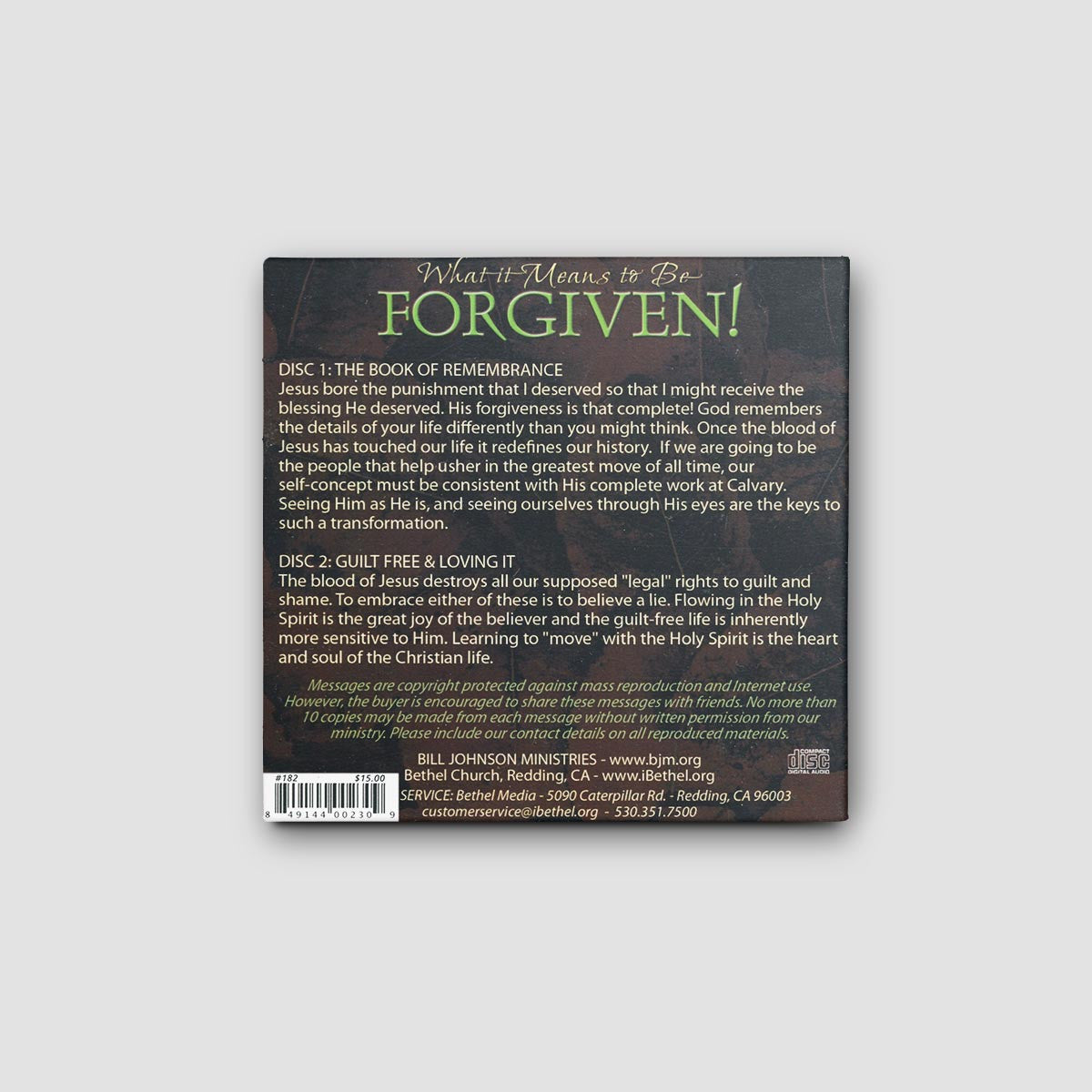 What it Means to be Forgiven