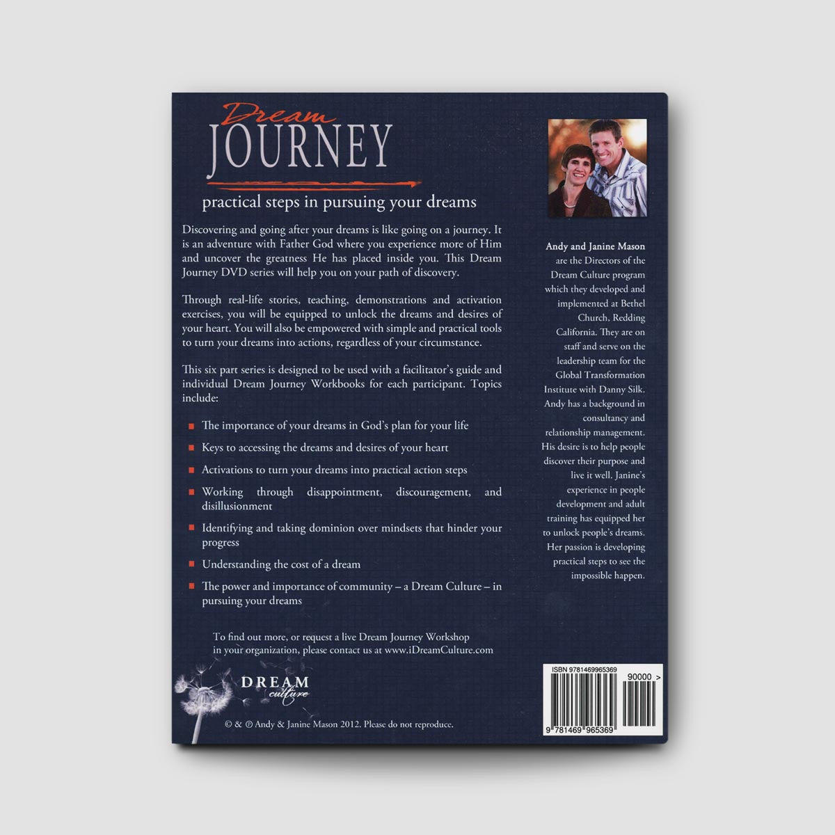 Dream Journey Workbook