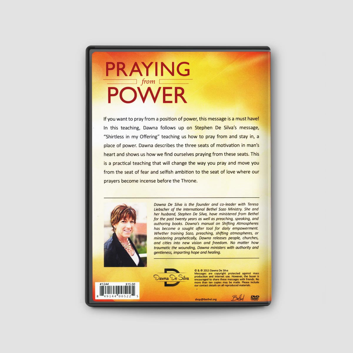 Praying From Power