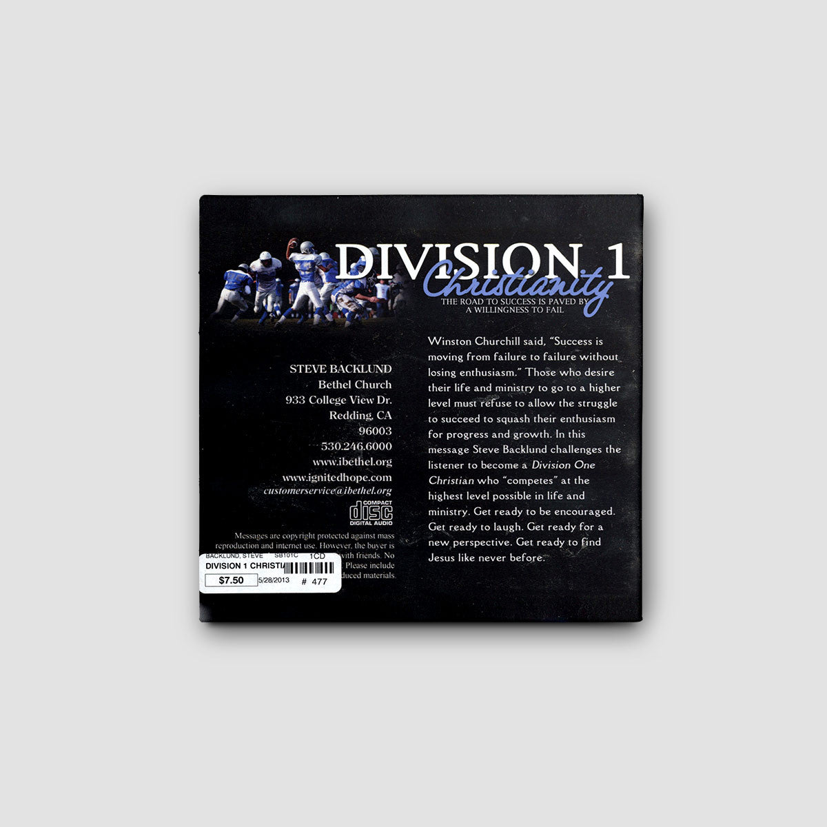 Division 1 Christianity