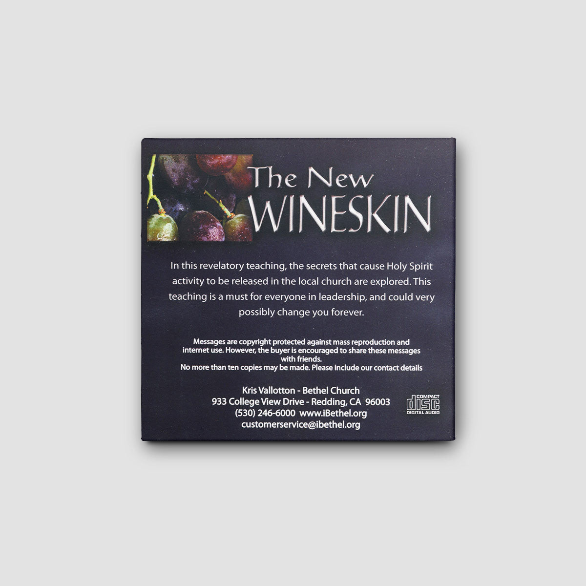 The New Wineskin