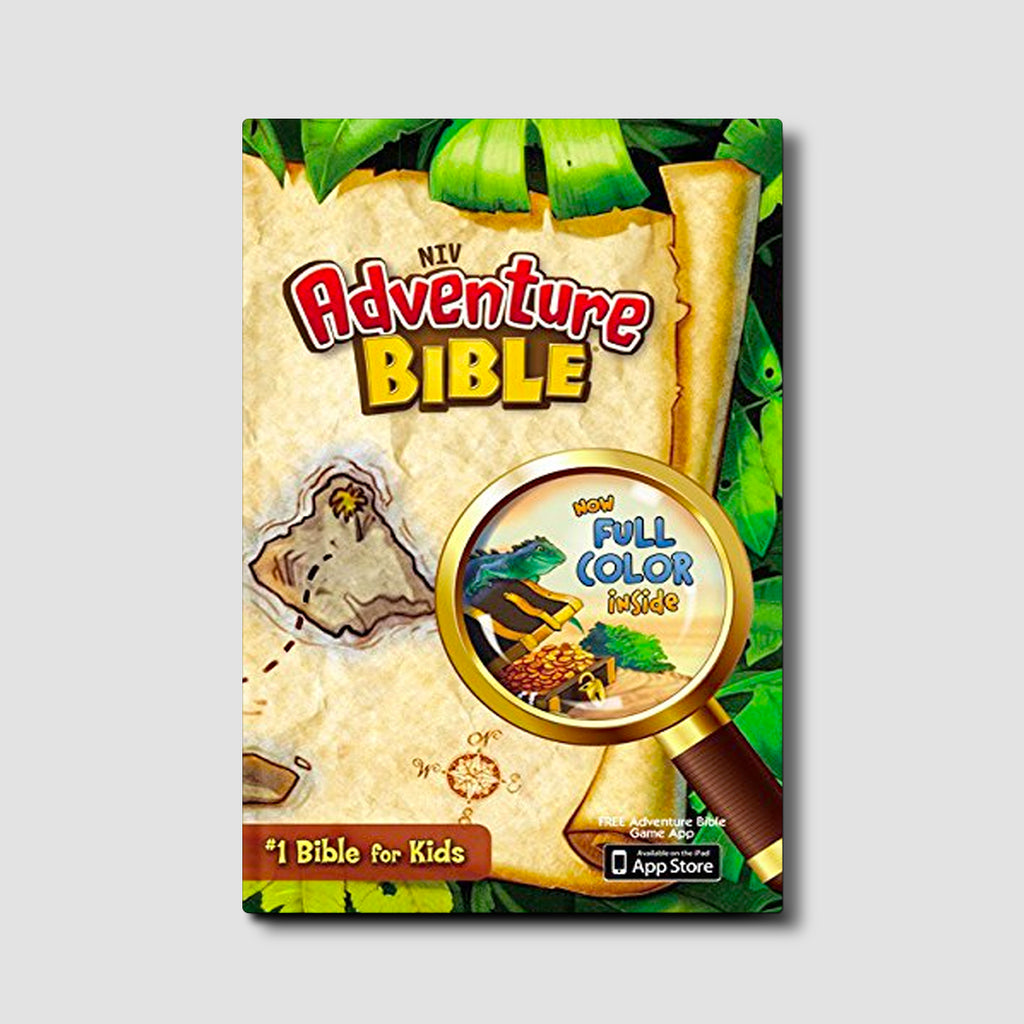 Kids Adventure Bible, NIV Hardcover