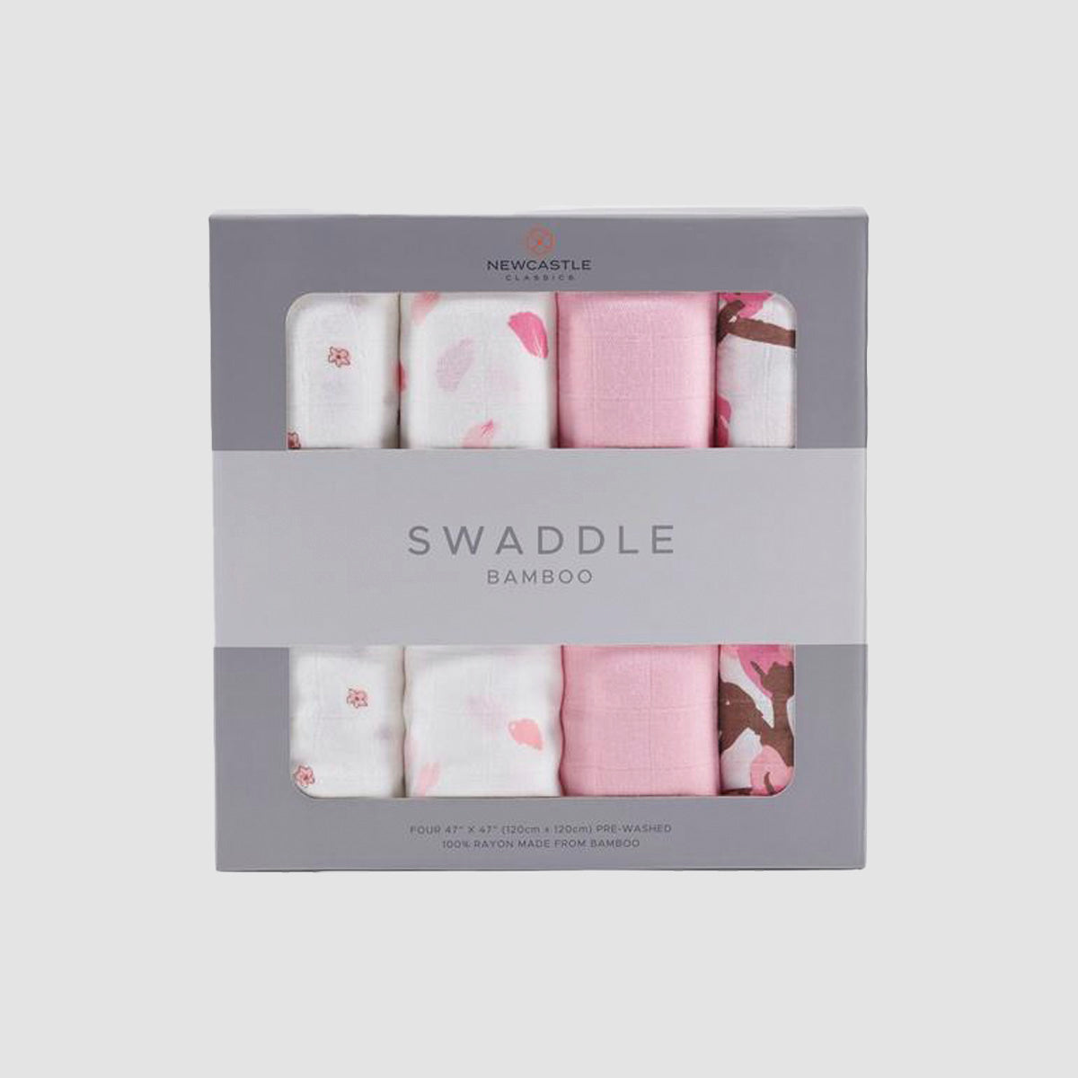 Flower 4-Pack Swaddle Set