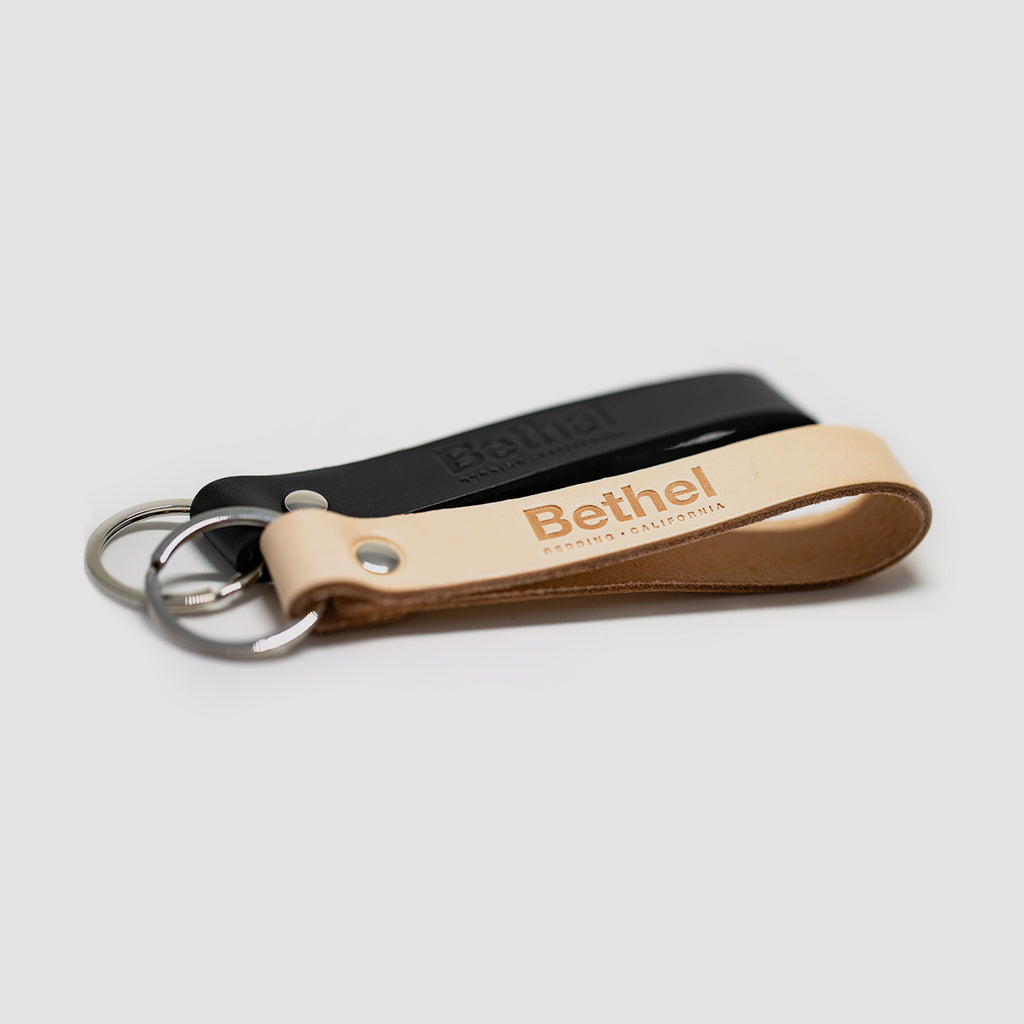 Bethel Redding Leather Key Ring