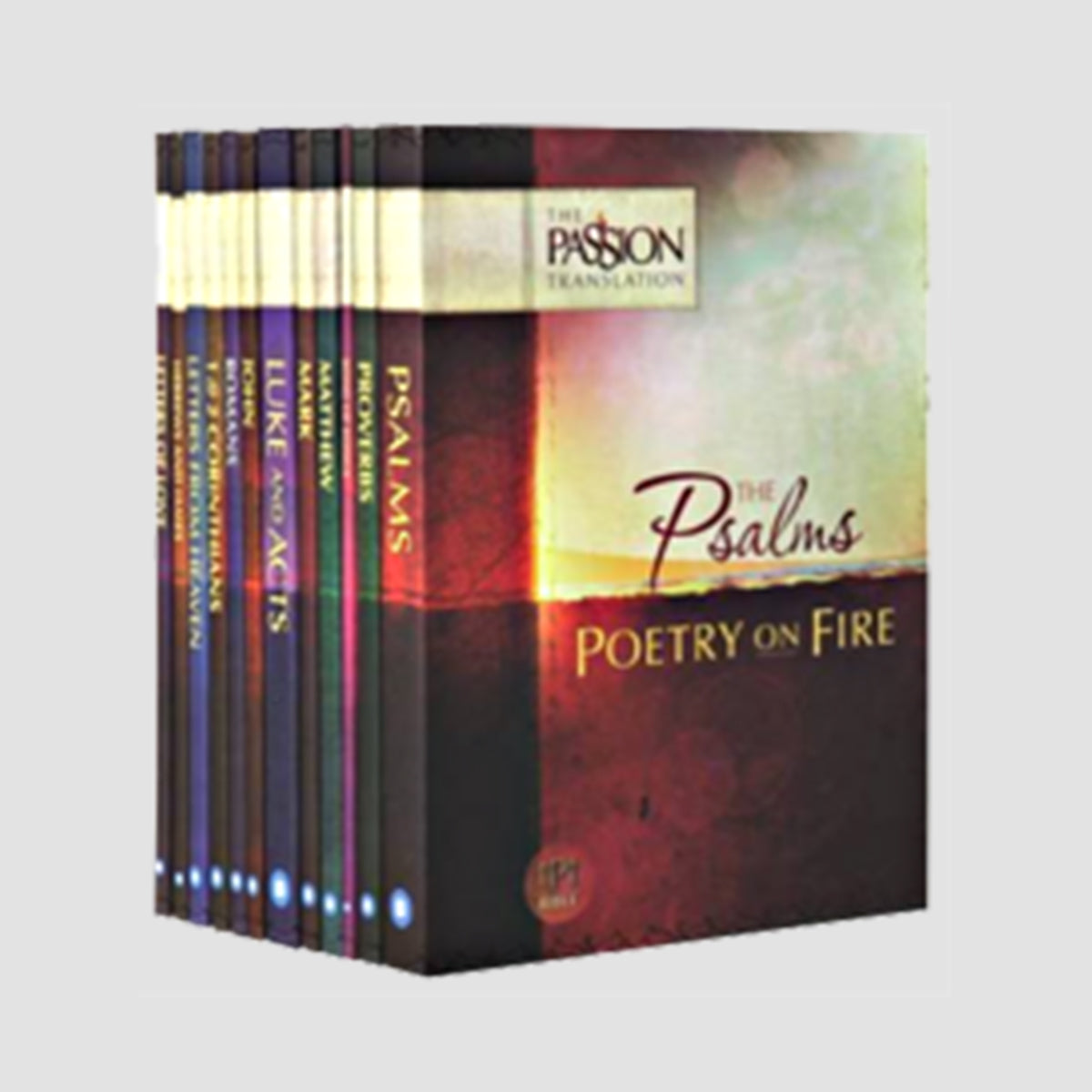 The Passion Translation 12-in-1 Collection: Encounter the Heart of God