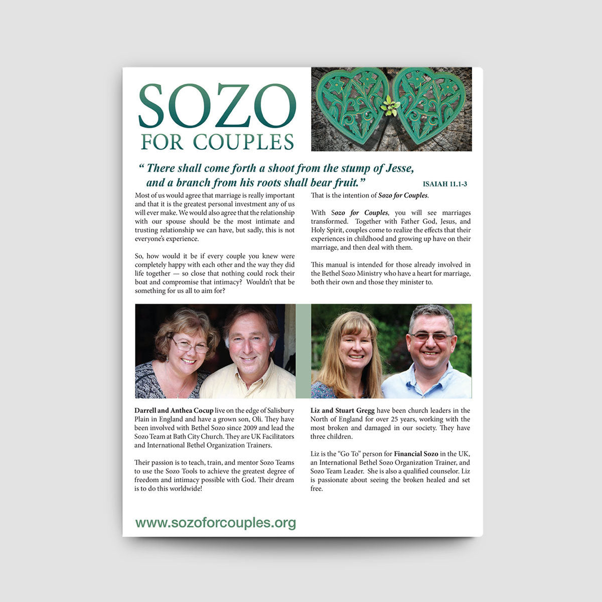 Sozo for Couples Manual