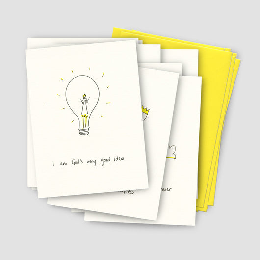 Mixed Pack of 8 Greeting Cards