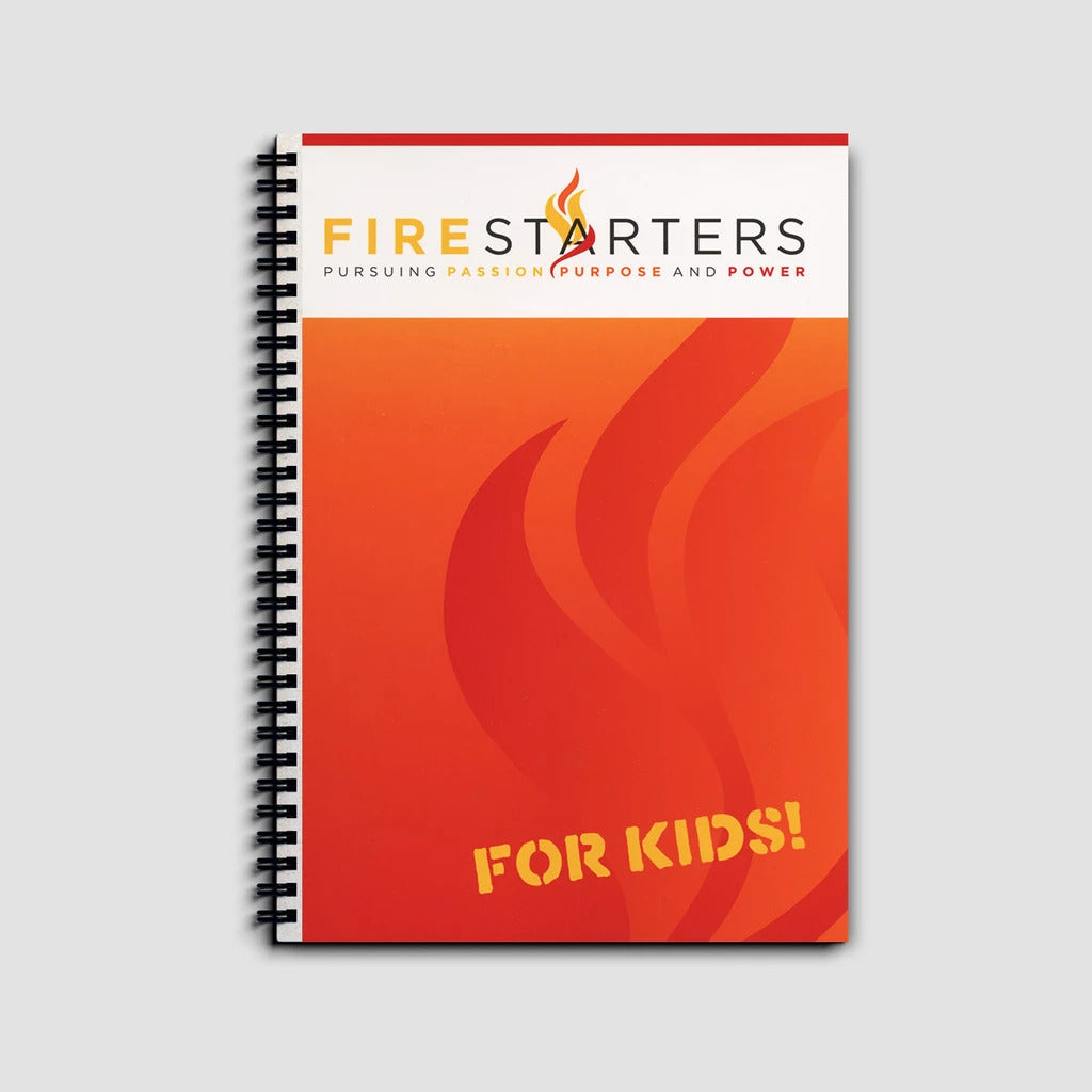 Firestarters for Kids Do you want to see your children live naturally supernatural? This fire-filled curriculum, based off the original FireStarters for Adults written by Kevin Dedmon, comes in two kits: Large Reproducible PDF Starter Kit and a VBS Kit.
