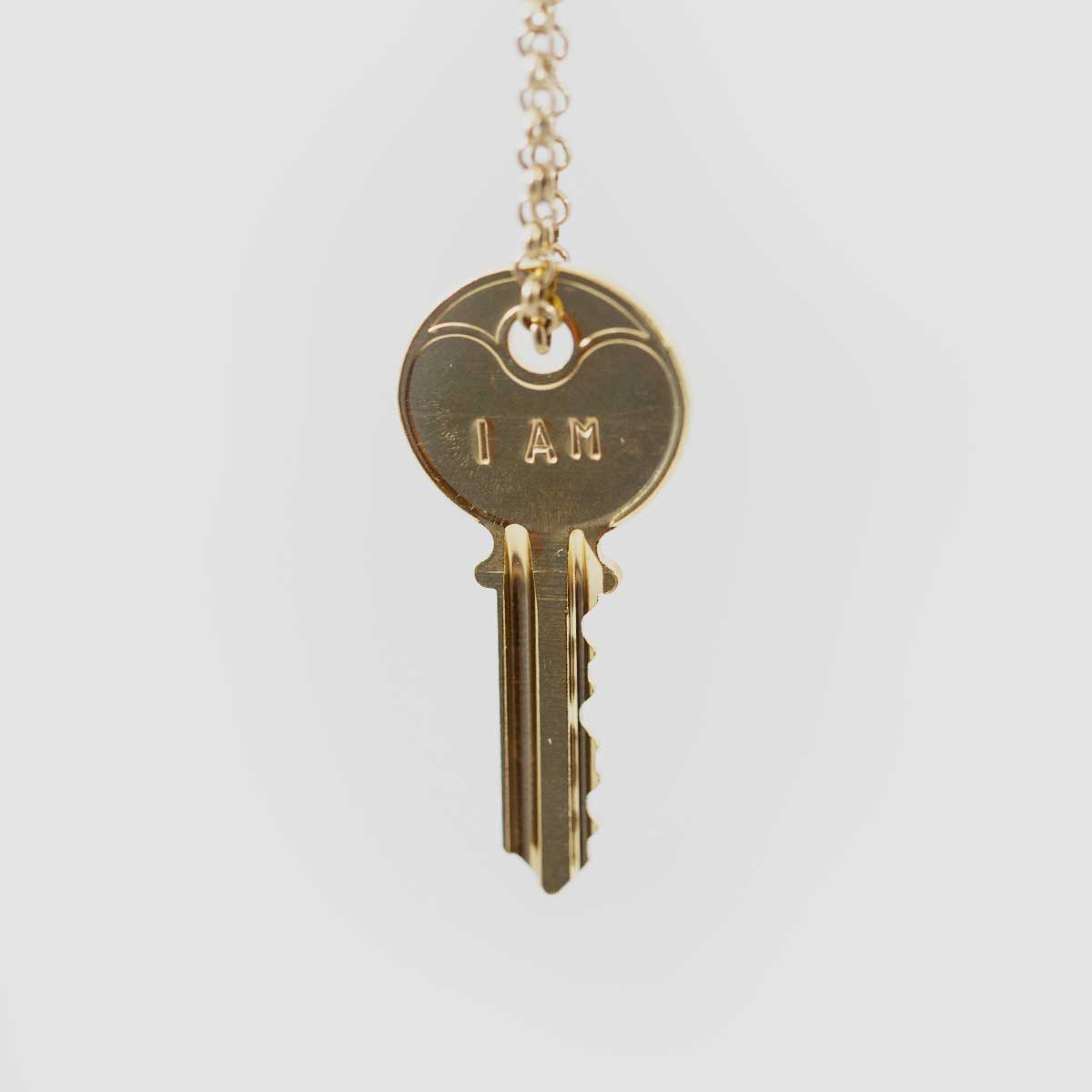 I Am Key Necklace