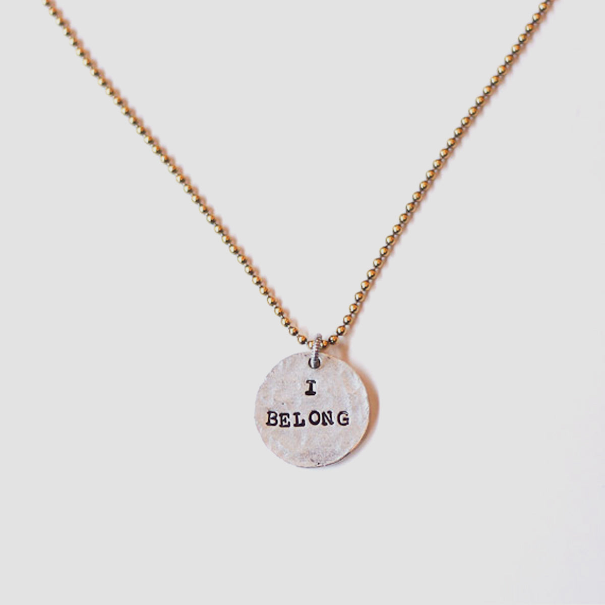 I Belong Necklace