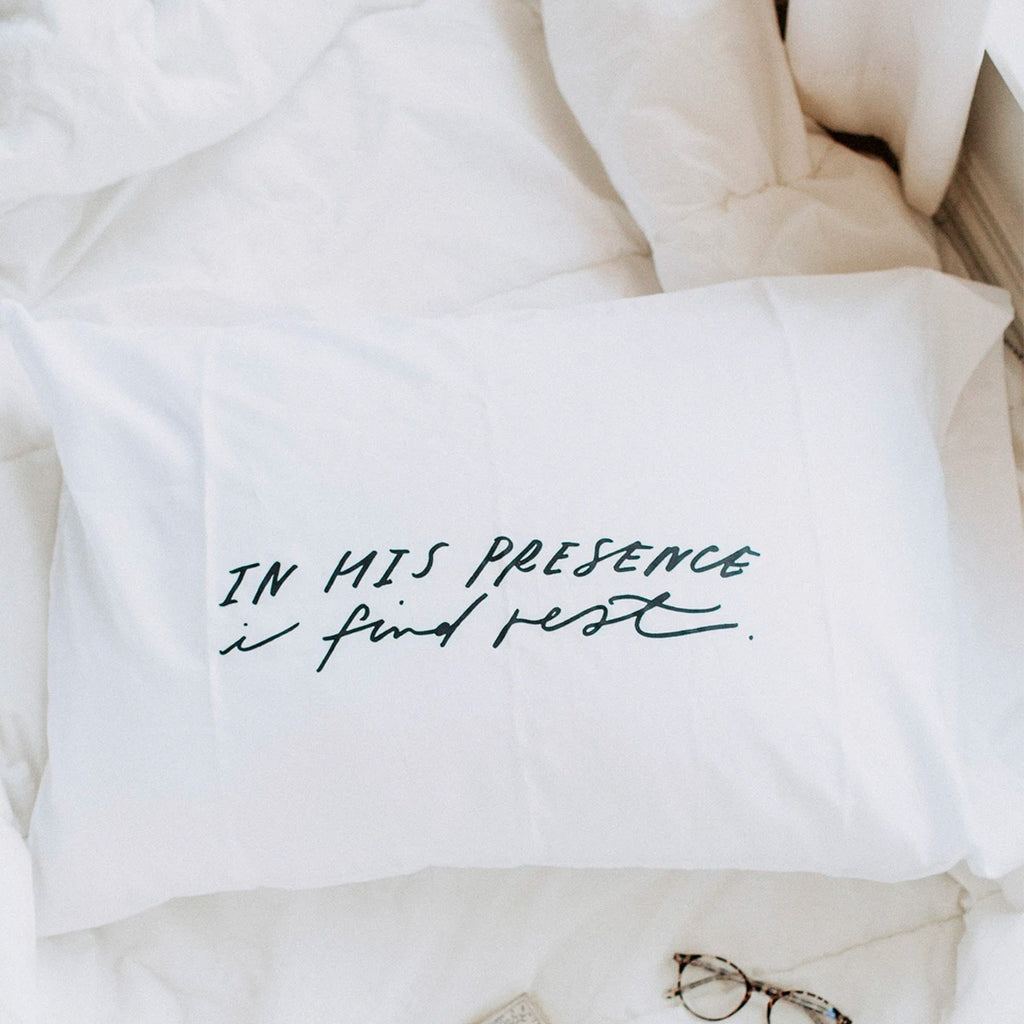 In His Presence Pillow Case