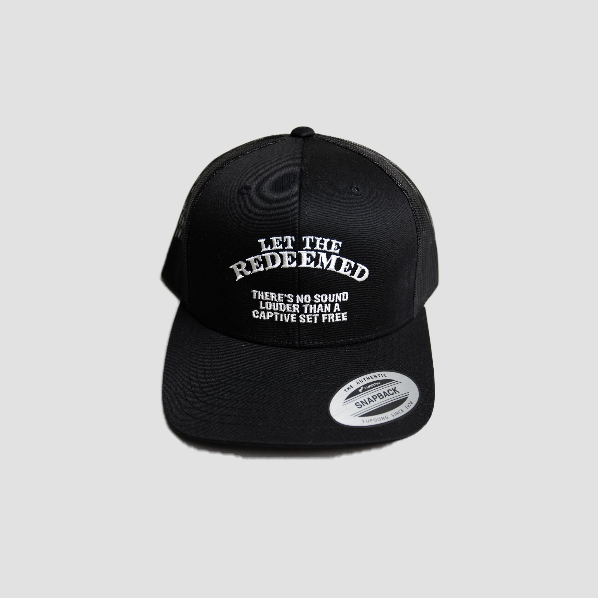 Let the Redeemed Trucker Hat