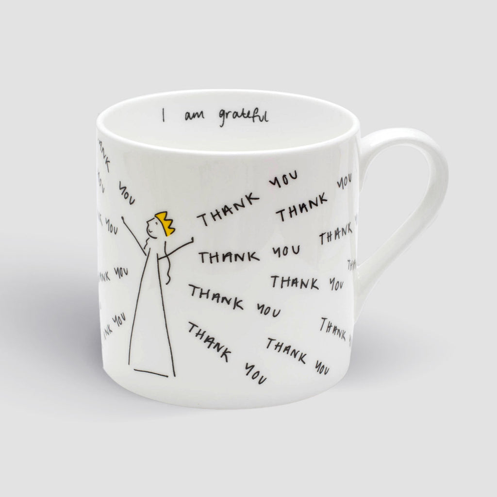 I Am Thankful Mug