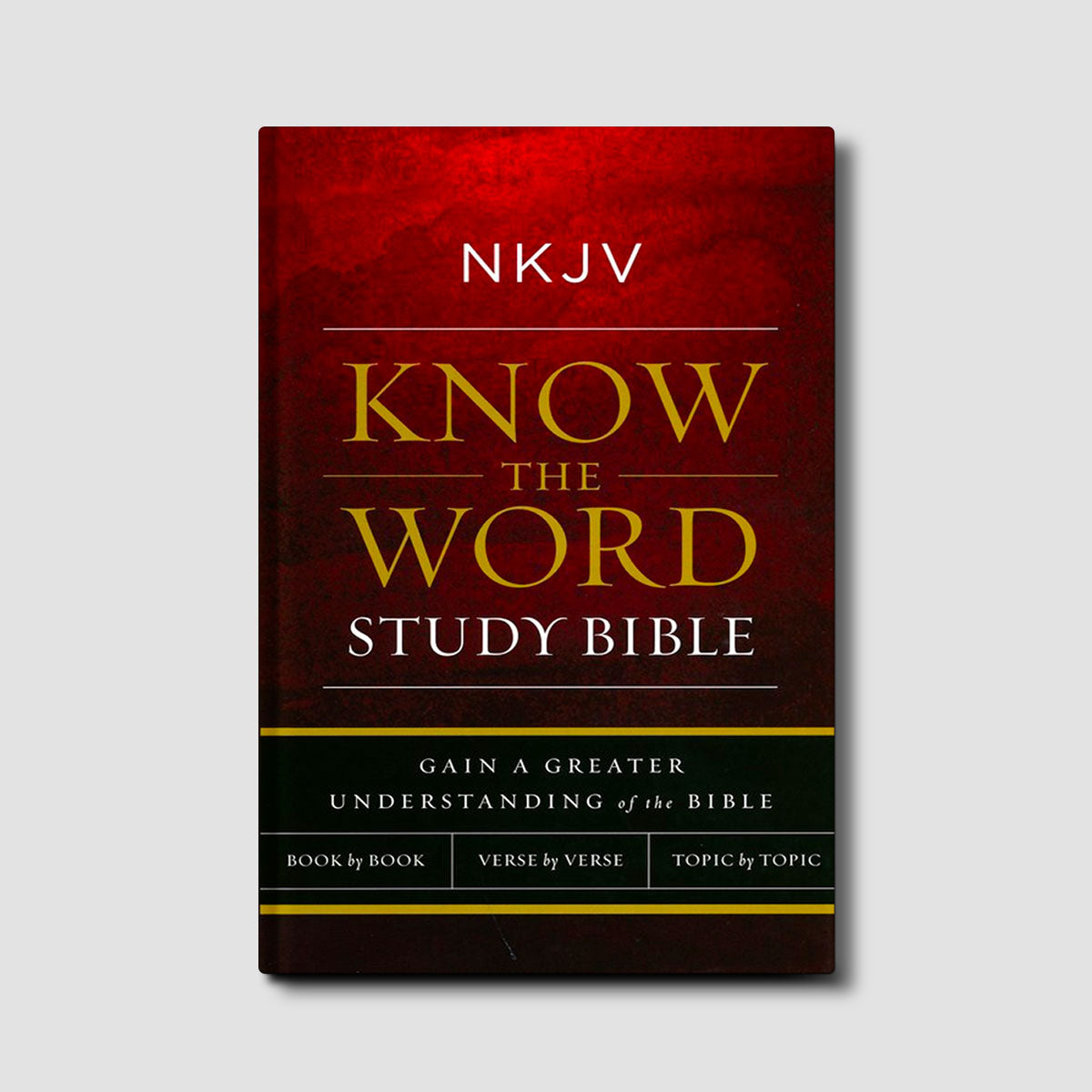 NKJV Know The Word Study Bible