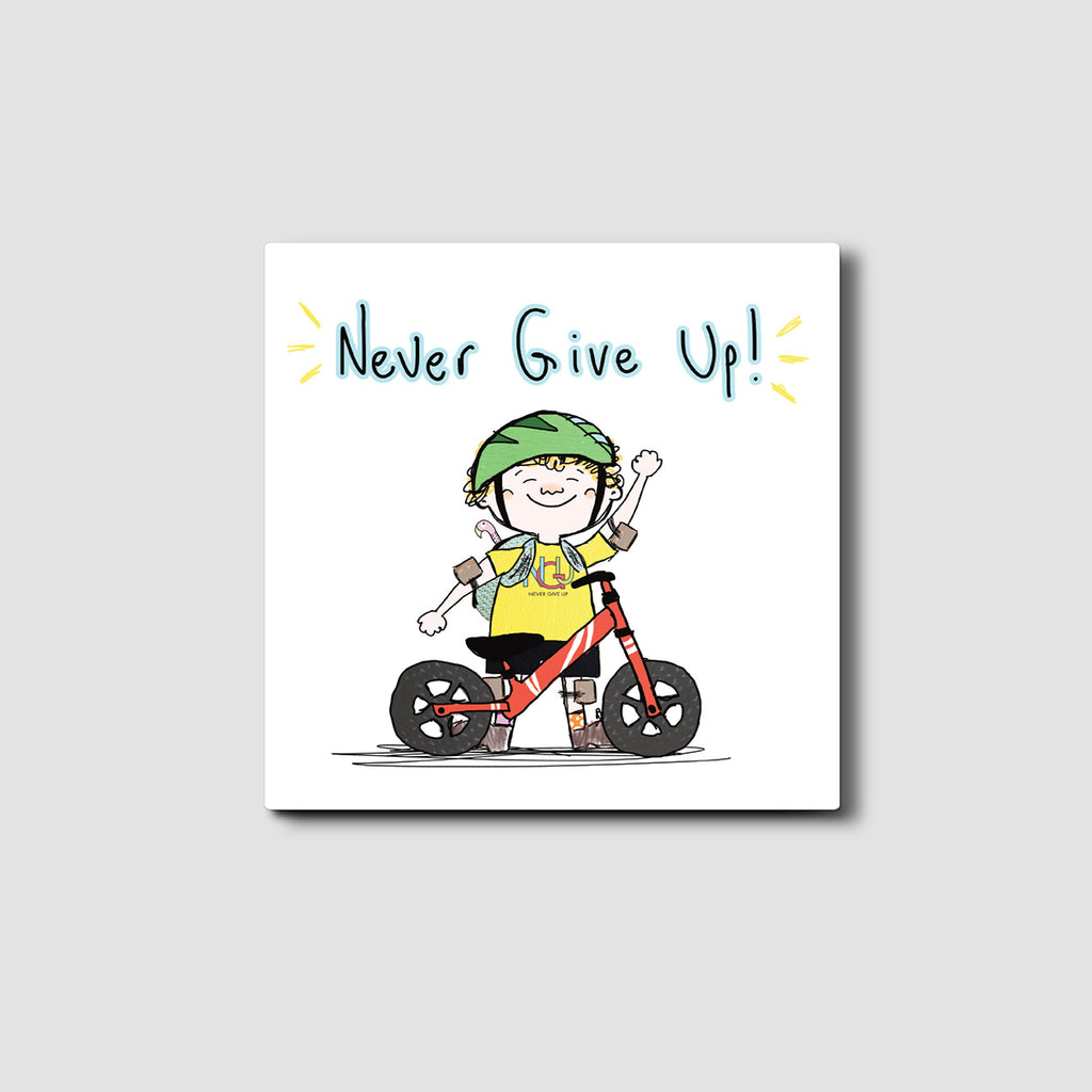 Never Give Up Silly Eric Card