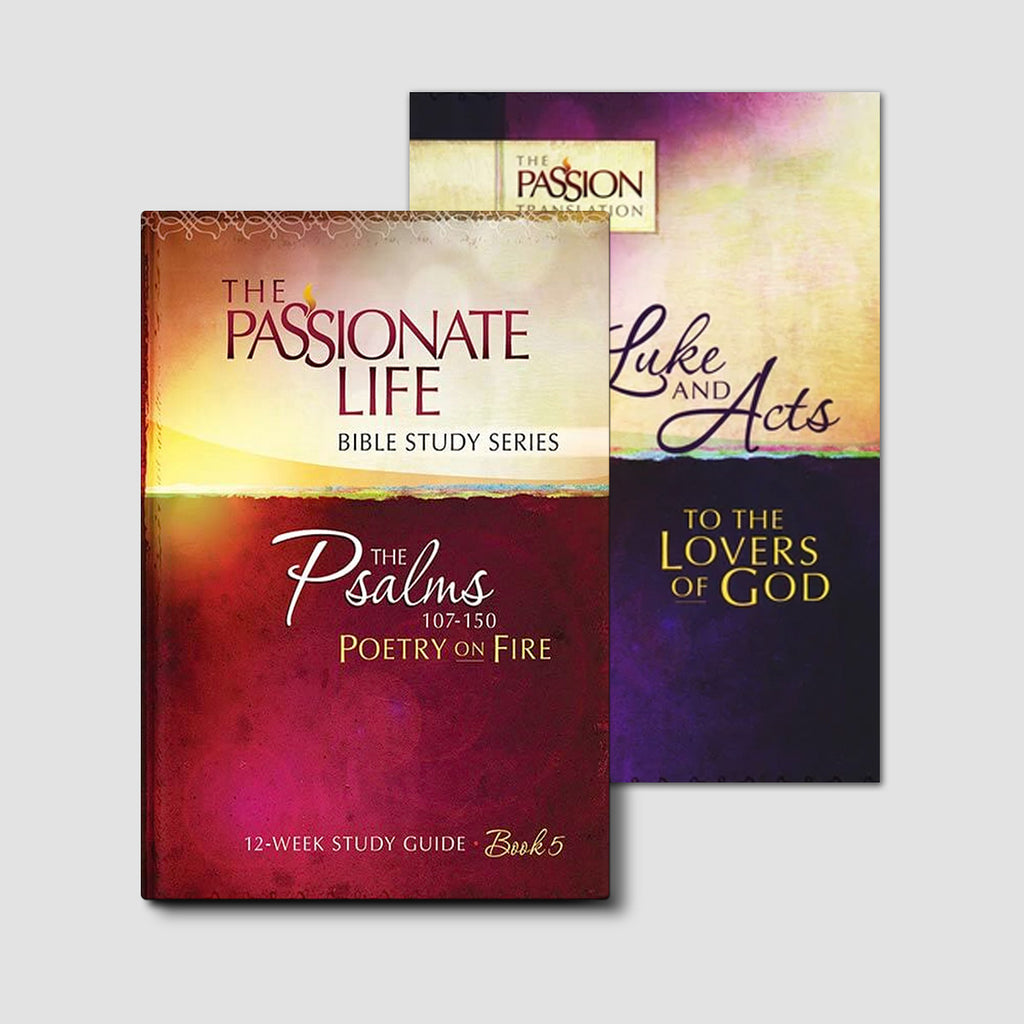 Luke: To the Lovers of God Bundle (The Passion Translation)