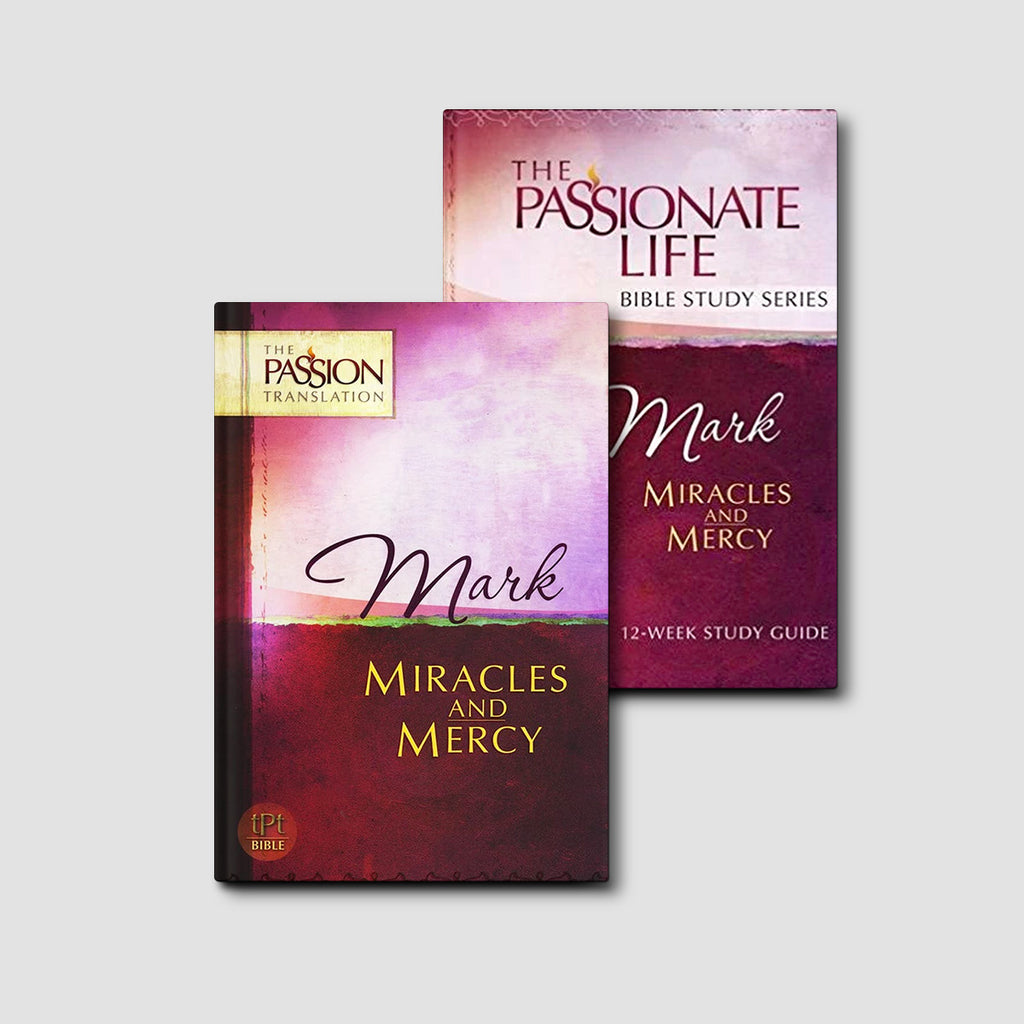 Mark: Miracles and Mercy Bundle (The Passion Translation)