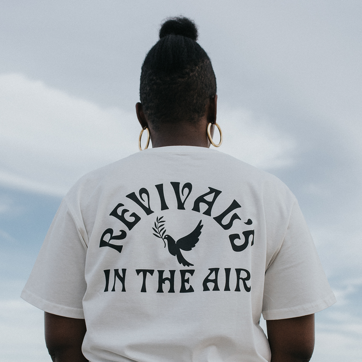 Revival's in the Air Arch Tee