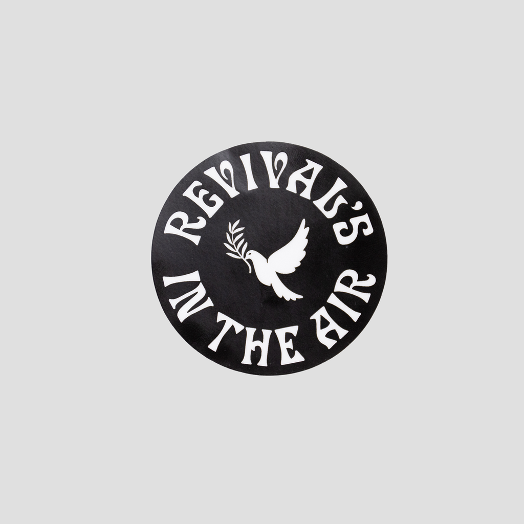 Revival's in the Air Circle Sticker