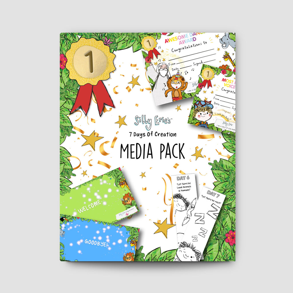 Silly Eric's 7 Day's of Creation Media Pack