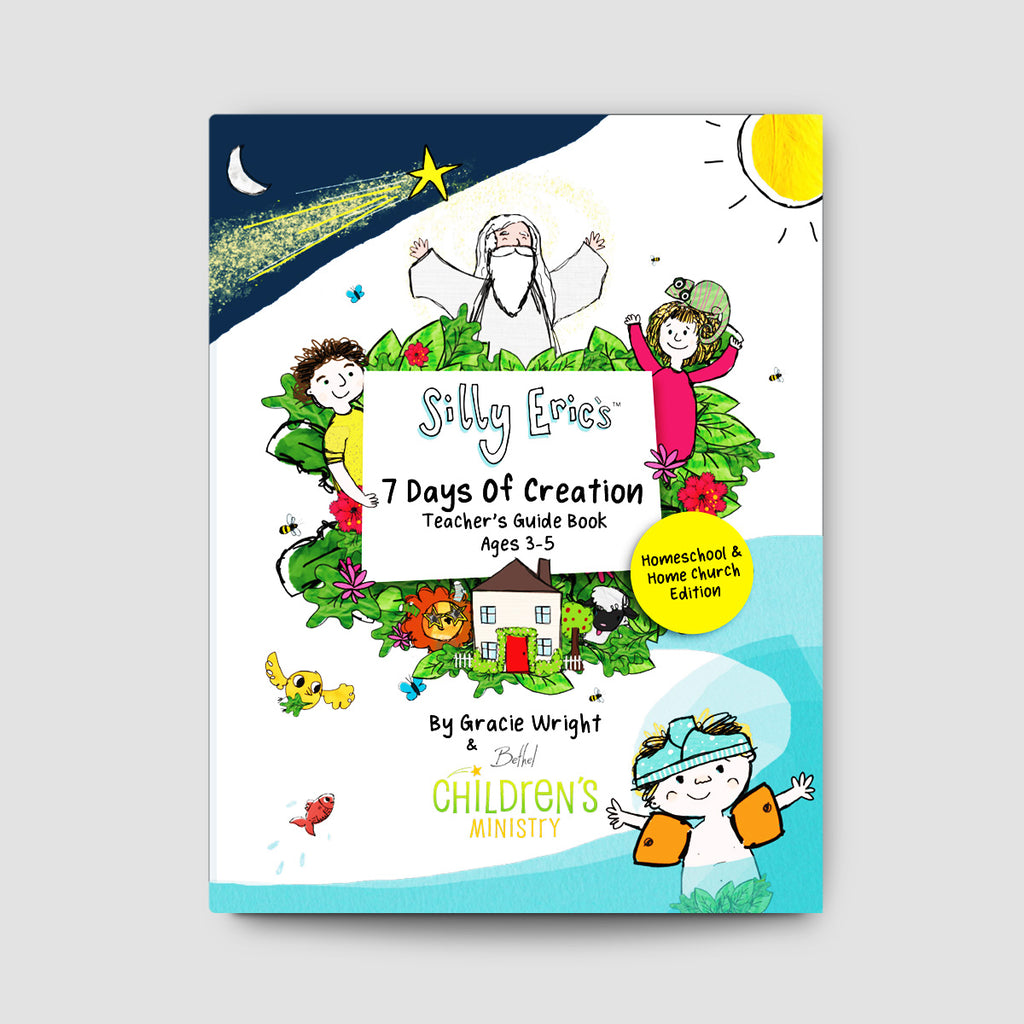 Silly Eric's 7 Day's of Creation Curriculum Homeschool Edition - Digital Bundle