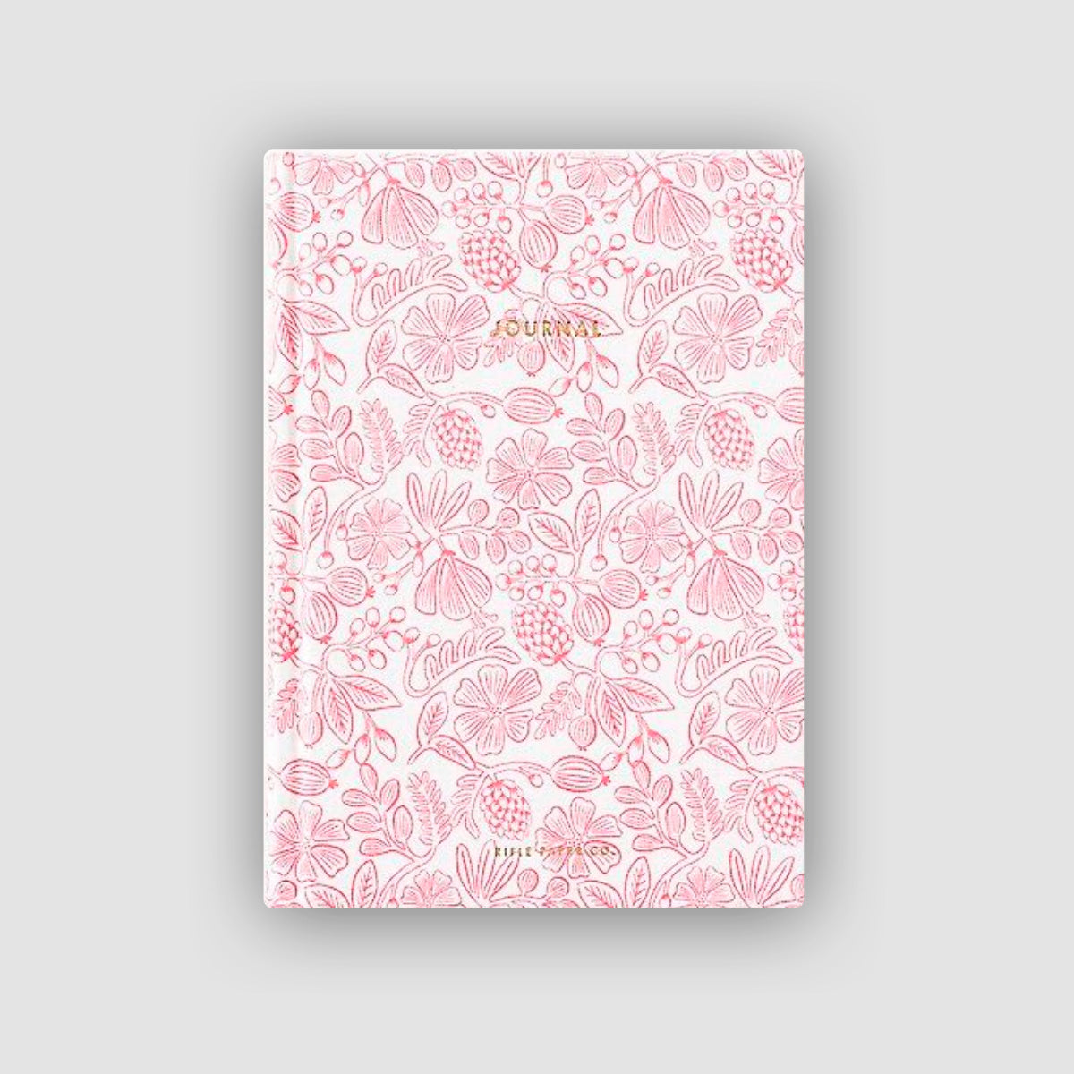 Preppy Fabric Journal