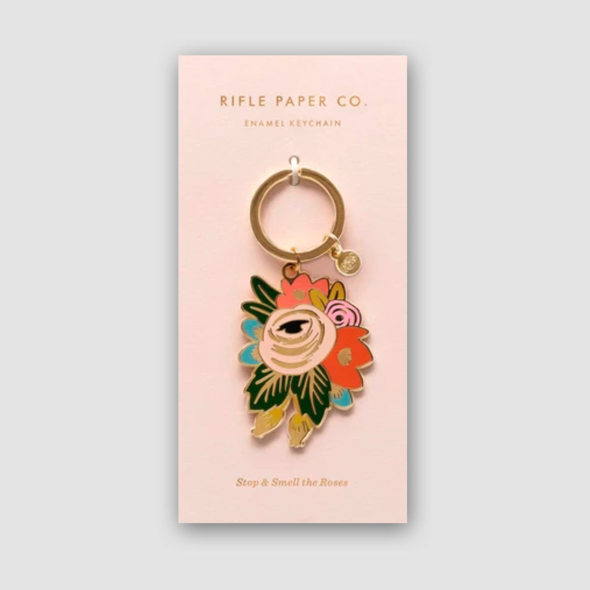 Rose Blossom Keychain