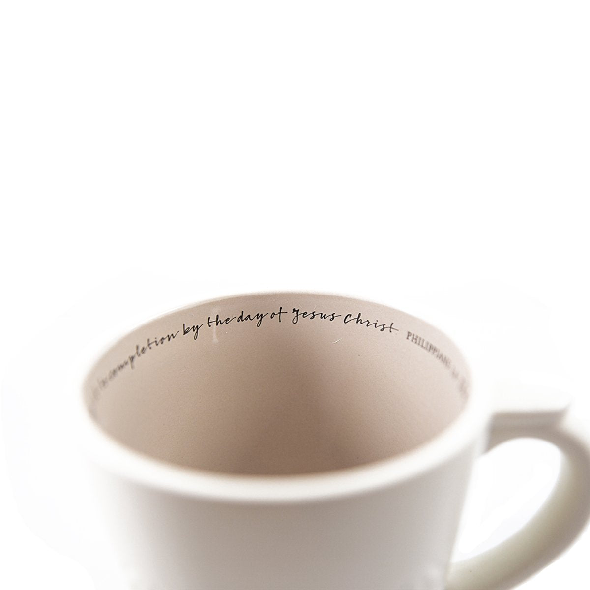Believe Textured Mug