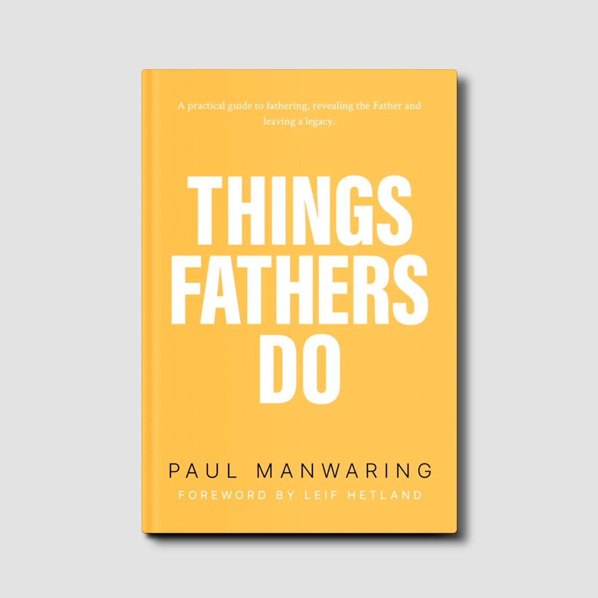 Things Fathers Do: A practical and supernatural guide to fathering, revealing the Father and leaving