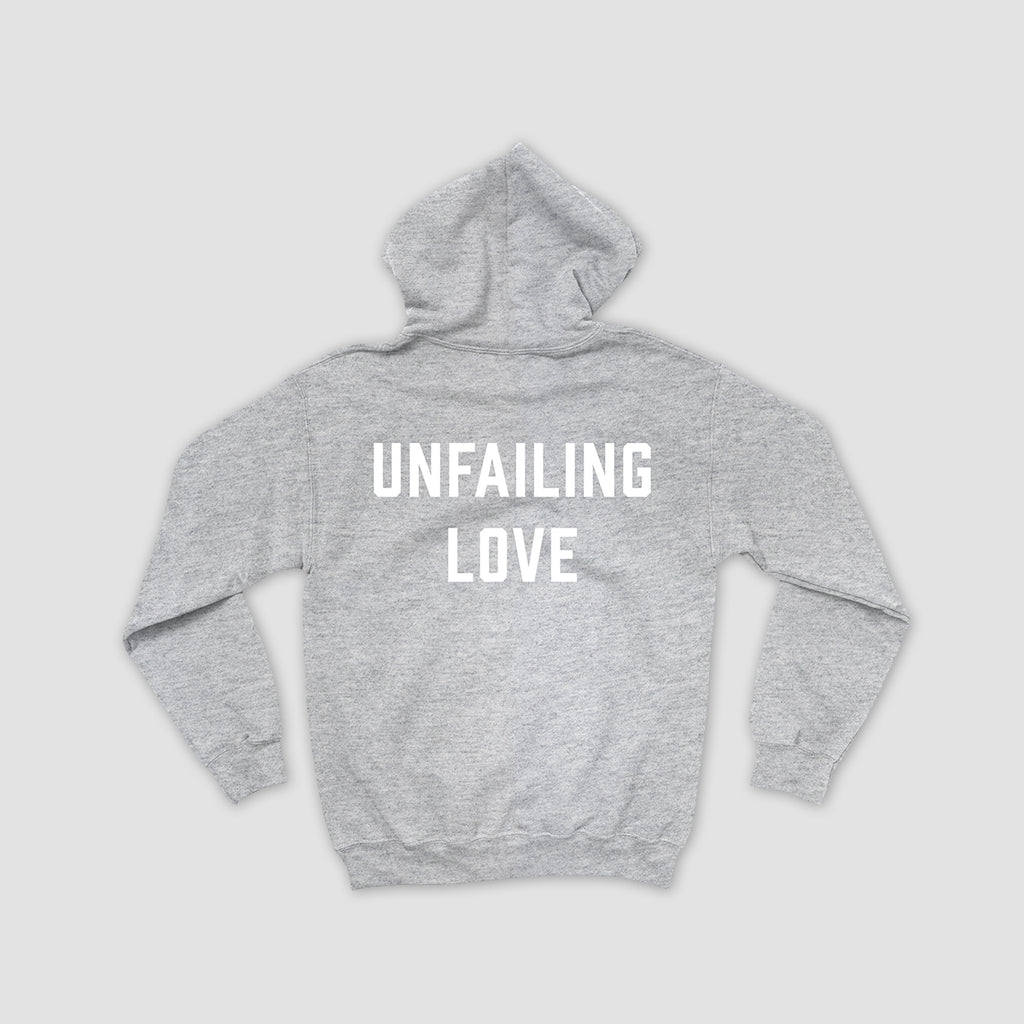 Unfailing Love Hooded Pullover Fleece