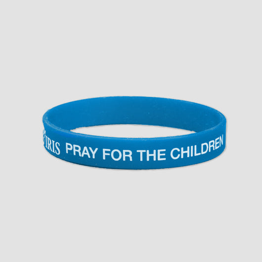 Pray for the Children Silicone Wristband