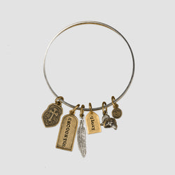 Open Heavens Bangle Bracelet
