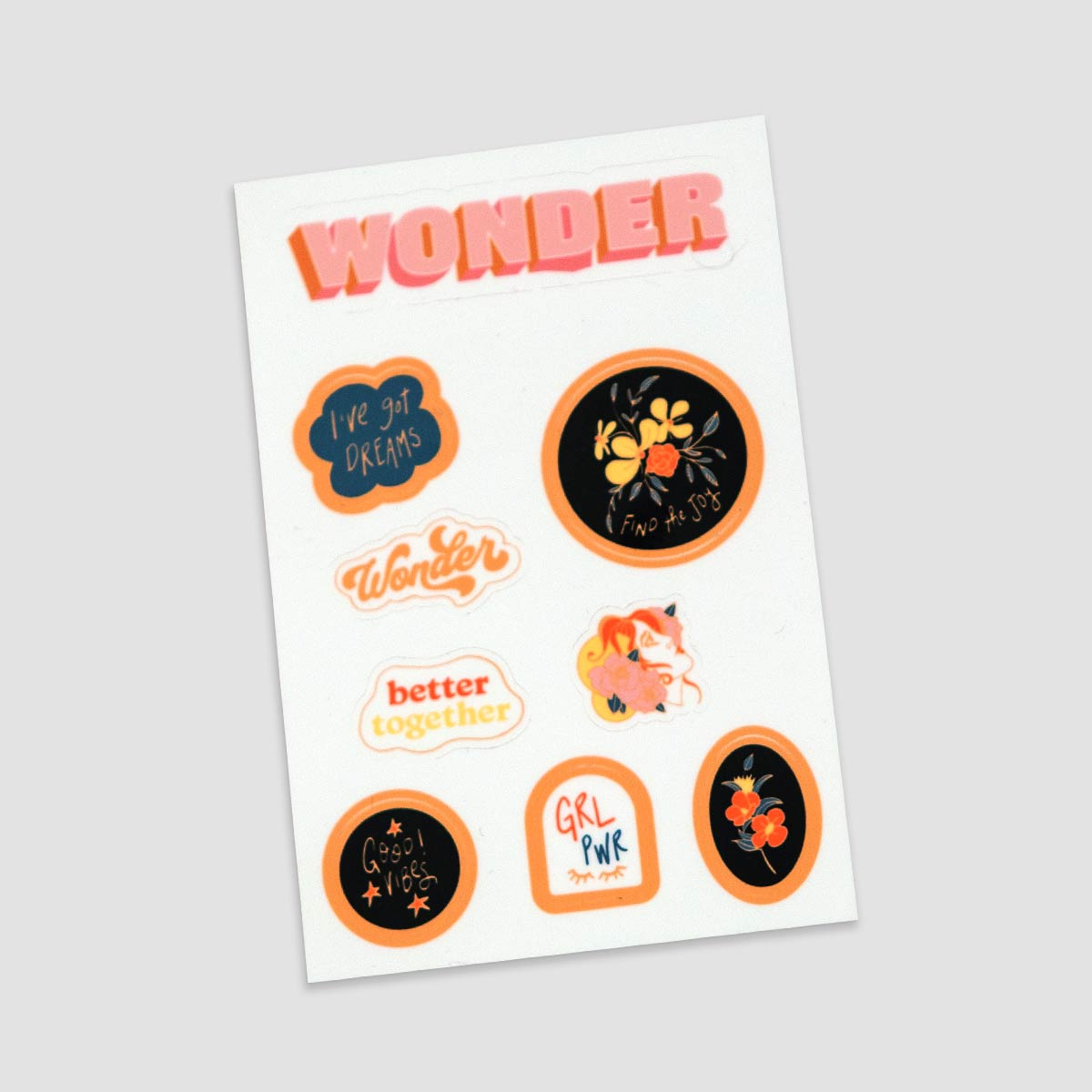 Wonder Sticker Pack
