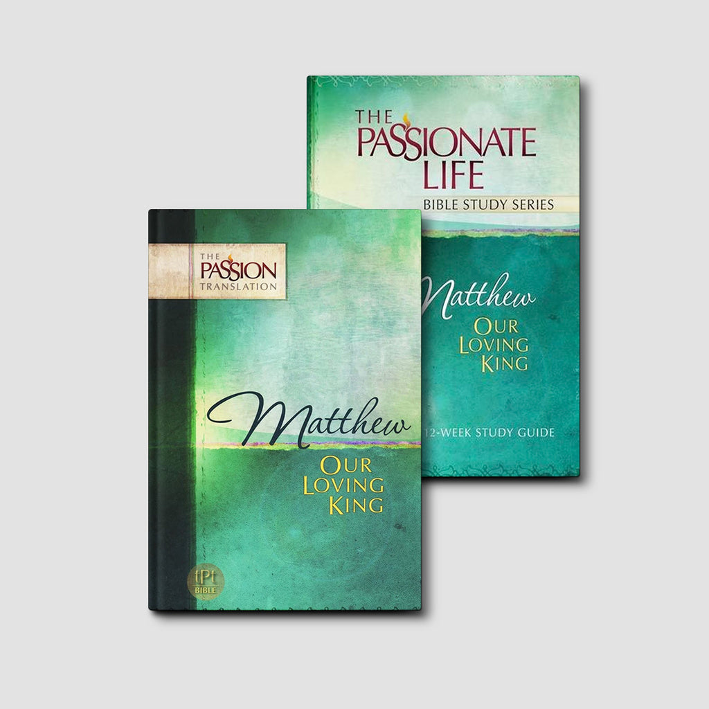 Matthew: Our Loving King Bundle (The Passion Translation)