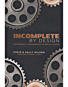 Incomplete By Design